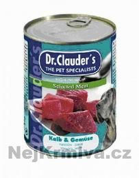 Dr.Clauders 820g Kalb + Gemüse (telecí se zeleninou)