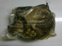 Drš�ka zelená nepraná kusová 1 kg