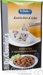 Dr.Clauders 100g Kaninchen + Leber (králík+játra) kapsièka