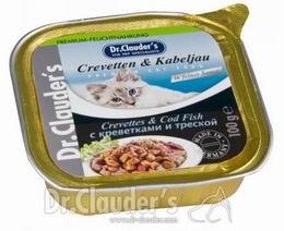 Dr.Clauders 100g Crevetten + Kabeljau (krevety+treska) vanièka - zvìtšit obrázek