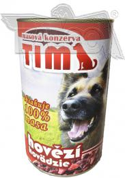 TIM 1200g hovìzí - celomasová konzerva - zvìtšit obrázek