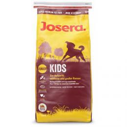 JOSERA Kids 15 kg s drùbežím masem a masem s mušlí