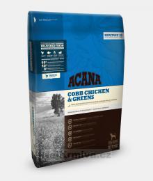 ACANA HERITAGE Cobb Chicken & Greens 17 kg + doprava ZDARMA