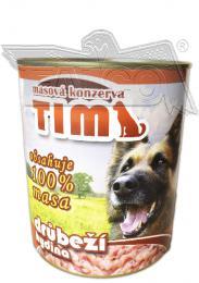TIM 800g drùbeží - celomasová konzerva - zvìtšit obrázek