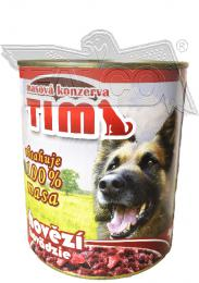 TIM 800g hovìzí - celomasová konzerva - zvìtšit obrázek