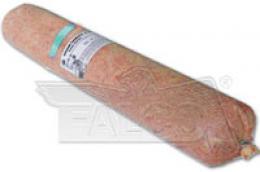 Mletý losos s drùbežím 1 ks - tyrkysová etiketa - zvìtšit obrázek