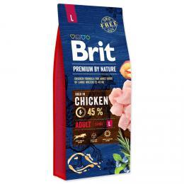 BRIT Premium by Nature ADULT L 15 kg - zvìtšit obrázek