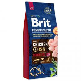 BRIT Premium by Nature SENIOR L+XL 15 kg