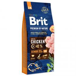 BRIT Premium by Nature SENIOR S+M 8 kg - zvìtšit obrázek
